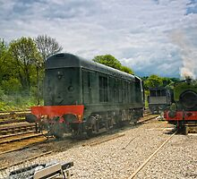 Steam and Diesel by David J Knight