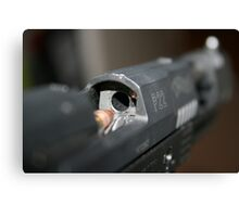 Walther P22 Ready For Loading Canvas Print