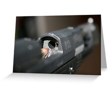 Walther P22 Ready For Loading Greeting Card