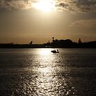Water Sunset by jaskel