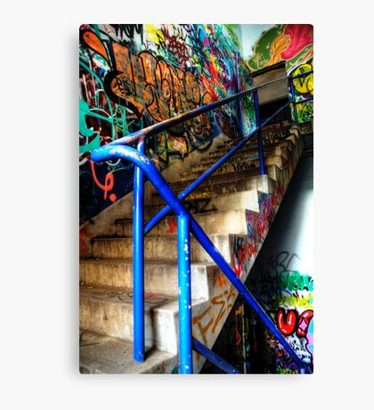 Stairway to Abandonment Canvas Print