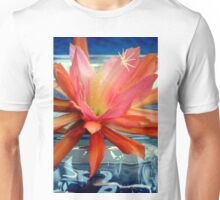 The Water Lily Cactus Unisex T-Shirt