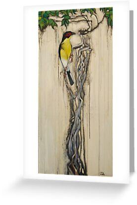 Mr Fig Bird and His Lady Tree by Alex Platt