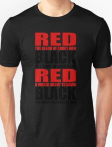Red & Black Unisex T-Shirt