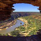 Natures window Kalbarri by Doug Cliff
