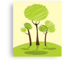 Green me! Canvas Print