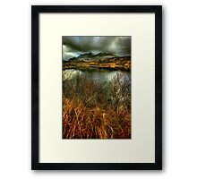 Sligachan Grasses Framed Print