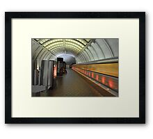 Washington D.C. Metro  Framed Print