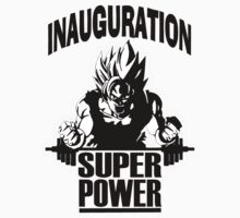 Inauguration super power design t-shirt Kids Clothes