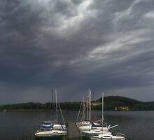 Boats by Gert Doerfler