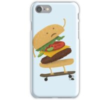 Burger Wipe-Out  iPhone Case/Skin