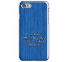 The Land of Words 4 iPhone Case/Skin