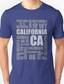 State Design - USA California T-Shirt