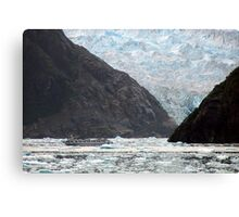 Between a Rock And a Hard Place Canvas Print