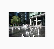Water fountains in More London Place Unisex T-Shirt