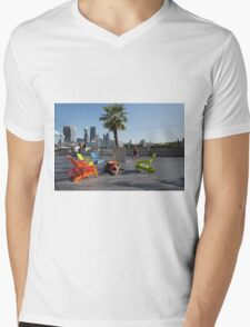 Palm tree outside city hall in London Mens V-Neck T-Shirt