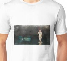Nude in Water by Mary Bassett Unisex T-Shirt