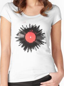 The Vinyl of my life Women's Fitted Scoop T-Shirt