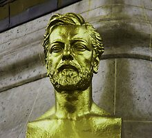 BUST OF GUSTAVE EIFFEL by gracestout2007