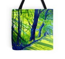 Sunlight Through the Trees, Derbyshire Tote Bag