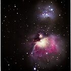 The fabulous Orion Nebula by outcast1