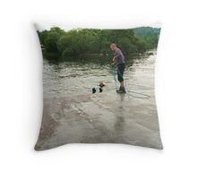There must be more to life... the other side of Windermere Throw Pillow