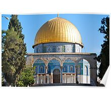 The Dome of the Rock... Poster