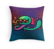 Earthbound Kraken Throw Pillow