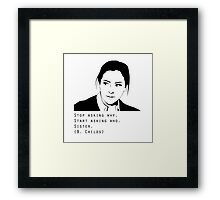 Beth Childs Framed Print