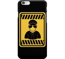 [blox] Leather man iPhone Case/Skin