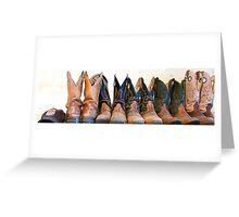 Boots Greeting Card