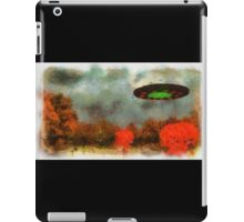 UFO Invasion Small Town by Raphael Terra iPad Case/Skin