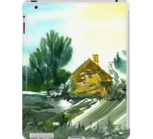 Old Farmhouse, Derbyshire iPad Case/Skin