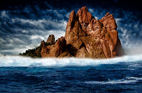 Lost at sea... by Nathalie Chaput