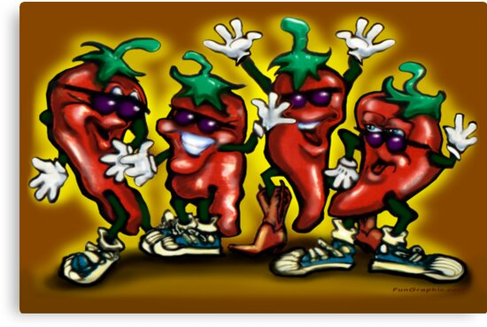 HOT Peppers by Kevin Middleton