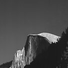 MOONRISE,HALF DOME by Chuck Wickham