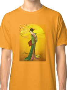 Beautiful Japanese girl Classic T-Shirt