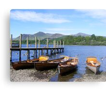 Boating - derwent water, Keswick Metal Print