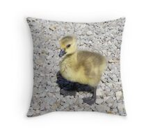 gosling - ahhhh! Throw Pillow