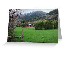 """Storybook Farm"" ~ Liberty, Utah Greeting Card"