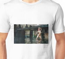 Nude in Water 5 by Mary Bassett Unisex T-Shirt