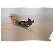 Surfing the Dune Poster