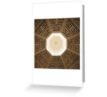Octagon Greeting Card