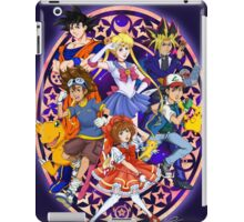 Anime For The 90s Kid iPad Case/Skin