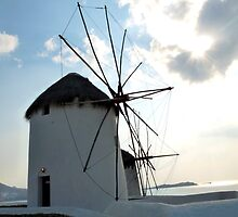 Windmills by the Sea by CiaoBella