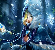 Dota 2 Crystal maiden by S4beR
