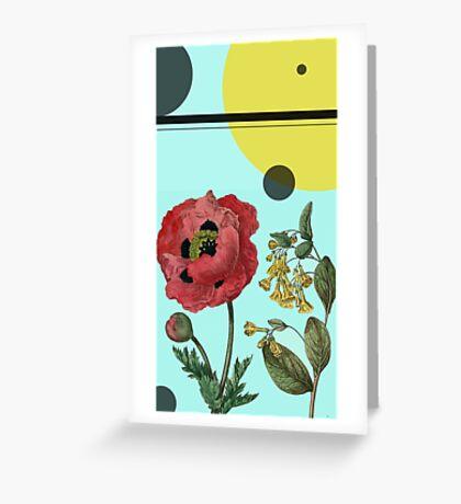 Sci-Fi Nature Greeting Card