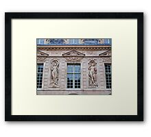 French Windows - Hotel de Sully Framed Print