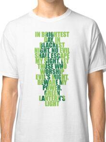 Superhero Wordart Classic T-Shirt