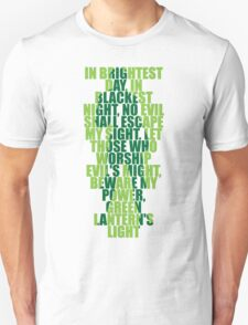Superhero Wordart Unisex T-Shirt